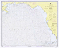 Key West to the Mississippi River 1978 Old Map Nautical Chart 1:875,000 sc Reprint 1003