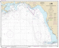 Key West to the Mississippi River 2014 Old Map Nautical Chart 1:875,000 sc Reprint 1003