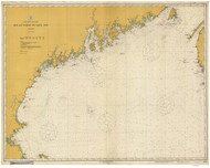 Bay of Fundy to Cape Cod 1917 AC General Chart 1106