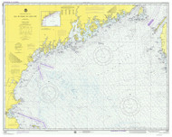 Bay of Fundy to Cape Cod 1975 AC General Chart 1106