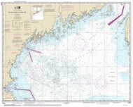 Bay of Fundy to Cape Cod 2014 AC General Chart 1106