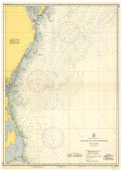 Cape May to Cape Hatteras 1942 AC General Chart 1109
