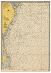 Cape May to Cape Hatteras 1951 AC General Chart 1109
