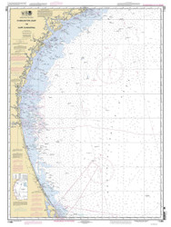 Charleston Light to Cape Canaveral 2010 AC General Chart 1111