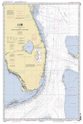 Cape Canaveral to Key West 2012 AC General Chart 1112