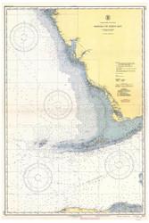 Habana to Tampa Bay 1942 AC General Chart 1113