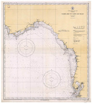 Tampa Bay to Cape San Blas 1933 AC General Chart 1114