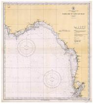 Tampa Bay to Cape San Blas 1933 AC General Chart 1114