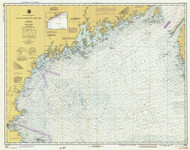 Bay of Fundy to Cape Cod 1980 AC General Chart 1106