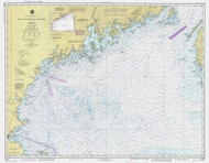 Bay of Fundy to Cape Cod 1986 AC General Chart 1106