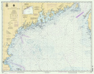 Bay of Fundy to Cape Cod 1992 AC General Chart 1106
