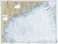 Bay of Fundy to Cape Cod 1999 AC General Chart 1106