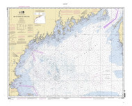 Bay of Fundy to Cape Cod 2007 AC General Chart 1106