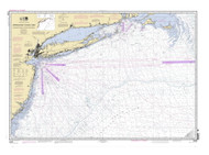 Approaches to New York Nantucket Shoals to Five Fathom Bank 2007 AC General Chart 1108