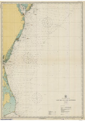 Cape May to Cape Hatteras 1922 AC General Chart 1109