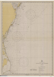 Cape May to Cape Hatteras 1930 AC General Chart 1109