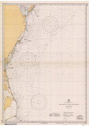 Cape May to Cape Hatteras 1934 AC General Chart 1109