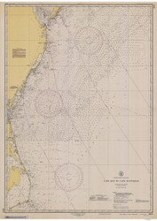 Cape May to Cape Hatteras 1945 AC General Chart 1109