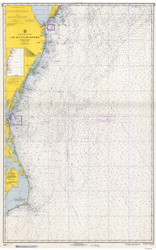 Cape May to Cape Hatteras 1966 AC General Chart 1109