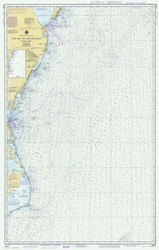 Cape May to Cape Hatteras 1980 AC General Chart 1109