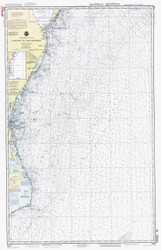 Cape May to Cape Hatteras 1992 AC General Chart 1109