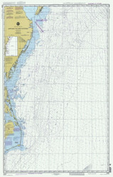 Cape May to Cape Hatteras 1997 AC General Chart 1109