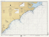 Cape Hatteras to Charleston 2000 AC General Chart 1110