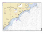 Cape Hatteras to Charleston 2008 AC General Chart 1110