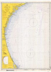 Charleston Light to Cape Canaveral 1968 AC General Chart 1111