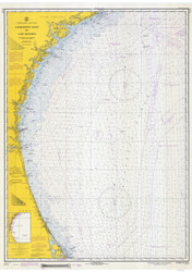 Charleston Light to Cape Canaveral 1970 AC General Chart 1111