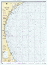 Charleston Light to Cape Canaveral 1981 AC General Chart 1111
