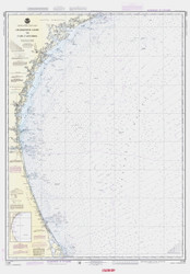 Charleston Light to Cape Canaveral 1988 AC General Chart 1111