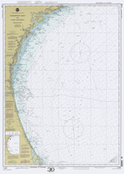 Charleston Light to Cape Canaveral 2000 AC General Chart 1111