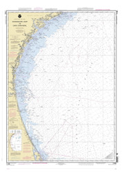 Charleston Light to Cape Canaveral 2005 AC General Chart 1111