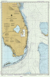 Cape Canaveral to Key West 1982 AC General Chart 1112