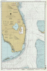 Cape Canaveral to Key West 1995 AC General Chart 1112