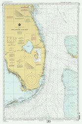 Cape Canaveral to Key West 2000 AC General Chart 1112