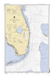 Cape Canaveral to Key West 2005 AC General Chart 1112