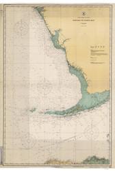 Habana to Tampa Bay 1923 AC General Chart 1113