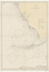 Habana to Tampa Bay 1933 AC General Chart 1113