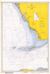 Habana to Tampa Bay 1967 AC General Chart 1113