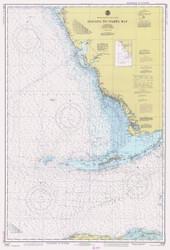 Habana to Tampa Bay 1981 AC General Chart 1113