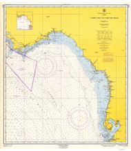 Tampa Bay to Cape San Blas 1962 AC General Chart 1114