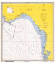 Tampa Bay to Cape San Blas 1967 AC General Chart 1114