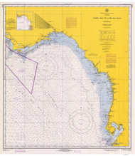 Tampa Bay to Cape San Blas 1970 AC General Chart 1114