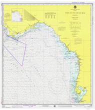 Tampa Bay to Cape San Blas 1975 AC General Chart 1114