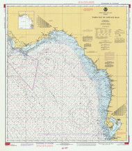 Tampa Bay to Cape San Blas 1981 AC General Chart 1114