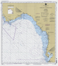 Tampa Bay to Cape San Blas 1999 AC General Chart 1114