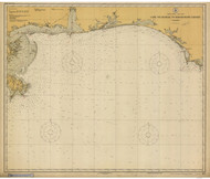 Cape St. George to Mississippi Passes 1925 AC General Chart 1115