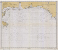 Cape St. George to Mississippi Passes 1933 AC General Chart 1115